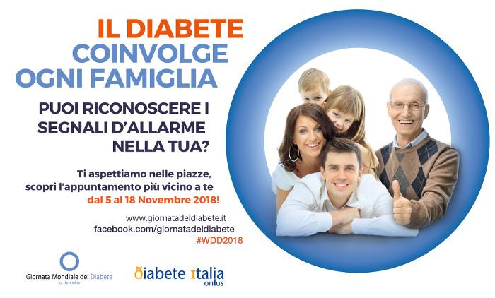 GMD 2018 giornata mondiale del diabete Giornata mondiale del diabete, 14 Novembre header GMD 2018